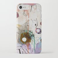 moon phase iPhone & iPod Cases featuring Pisces Moon, Phase 1 by Ysabel Price