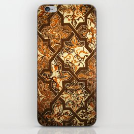 Islamic Heaven Design Done With Henna  iPhone Skin