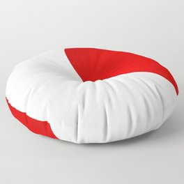 Half Heart Woman Floor Pillow