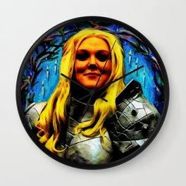 Joan of Arch Wall Clock