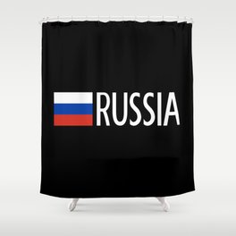 Russia: Russian Flag & Russia Shower Curtain