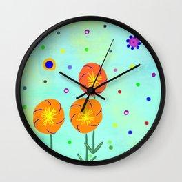 Springtime, original Wall Clock