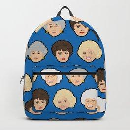 The Golden Girls Blue Pop Art Backpack