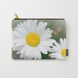 Daisies flowers in painting style 1 Carry-All Pouch