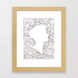 Shards 1 Framed Art Print