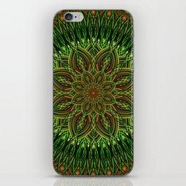 Earth Flower Mandala iPhone Skin