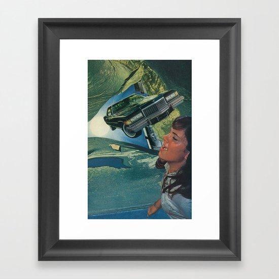 autoerotica Framed Art Print