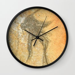 Natures Rock Art 1 Wall Clock