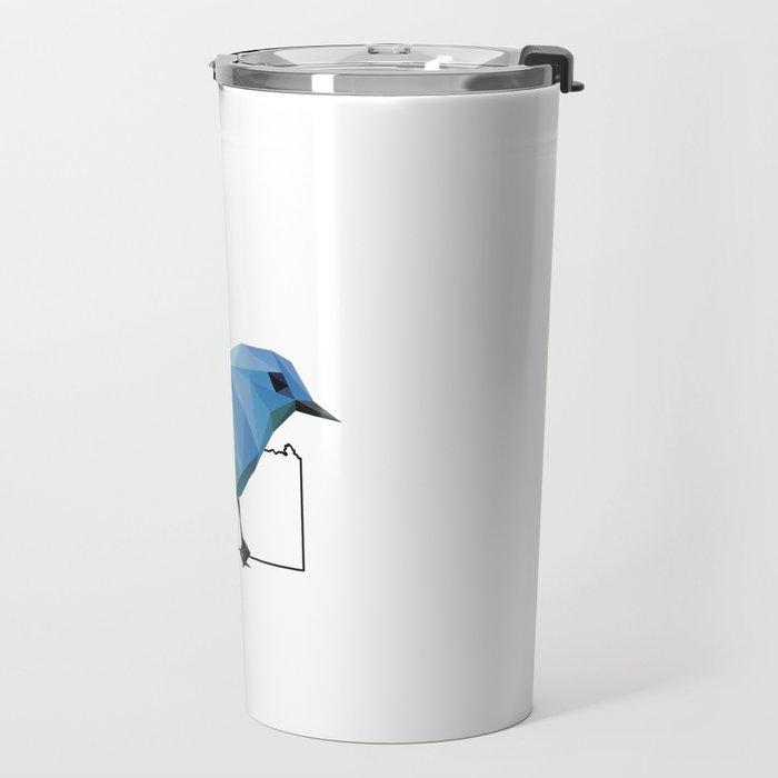 Idaho – Mountain Bluebird Travel Mug