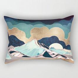 Indigo Spring Rectangular Pillow