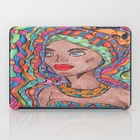 african iPad Cases featuring African by havana