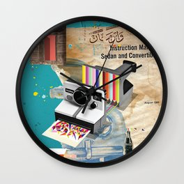 Colors In Progress Wall Clock