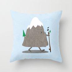 Lil' Hiker Throw Pillow