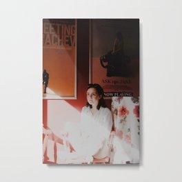 """Go Ask Jane"", Gloucester MA Metal Print"