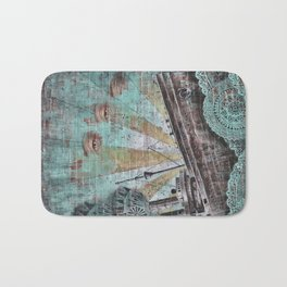 the boat wall Bath Mat