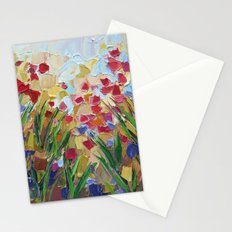 Floral Fields No. 3 Stationery Cards