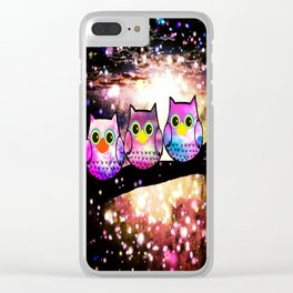 owl-270 Clear iPhone Case