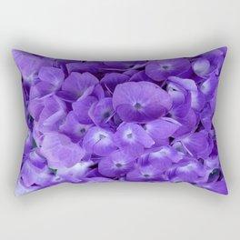 Amethyst  Hydrangea Flowers Garden Art Rectangular Pillow