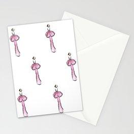 Gala Girl Pattern Stationery Cards
