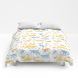 Watercolor Cats - Cats Everywhere! Comforters