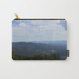 Stowe, Vermont Mountains Carry-All Pouch