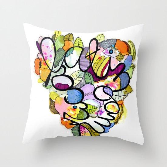 Latinoamérica LOVE Throw Pillow