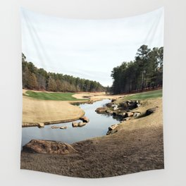 Golf Creek Winding Wall Tapestry