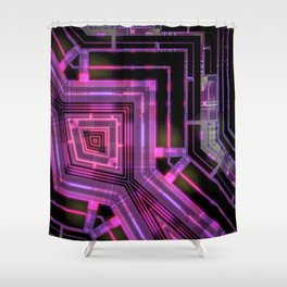 click click Shower Curtain