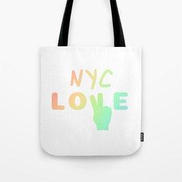 Gay Pride NYC Love design | Parade New York City NY LGBTQ Tote Bag
