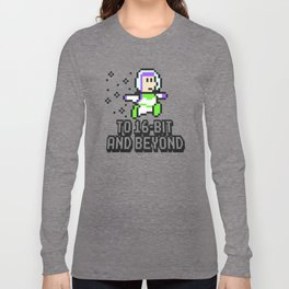 To 16Bit and Beyond Long Sleeve T-shirt