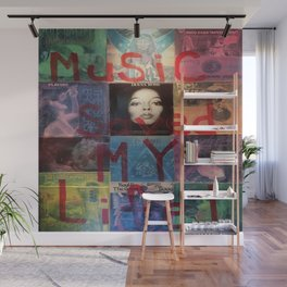 Music Saved My Life by T'Mculus' Soul Wall Mural