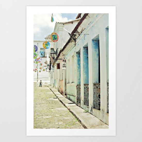 Salvador noon Art Print