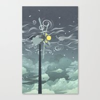 Wind Power! Canvas Print