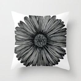 Aster Flower Throw Pillow