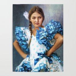 Polkadot Princess Poster