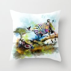 Smash your pattern! Throw Pillow
