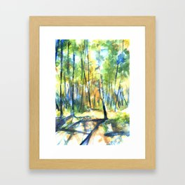 Scenes from the Forest II Framed Art Print