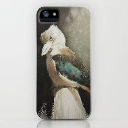 Sunbathing Kookaburra iPhone Case
