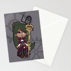 Steampunk Sailor Pluto - Sailor Moon Stationery Cards
