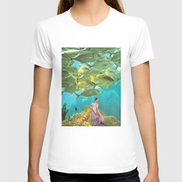 'It's Lonely Down Here' // Under the Sea T-shirt