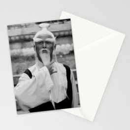 Master Pai Mei Stationery Cards