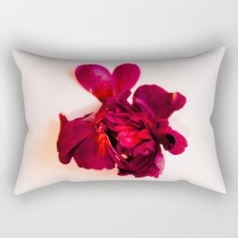 One Red Flower Rectangular Pillow