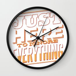 just here to reject anything saying Wall Clock