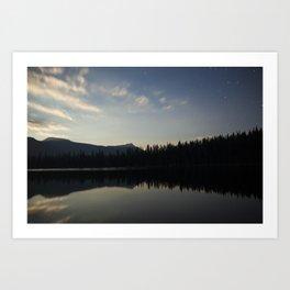 Bear Lake, High Uintas Wilderness Art Print