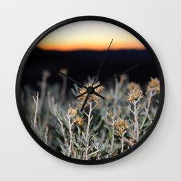 Sagebrush Wall Clock