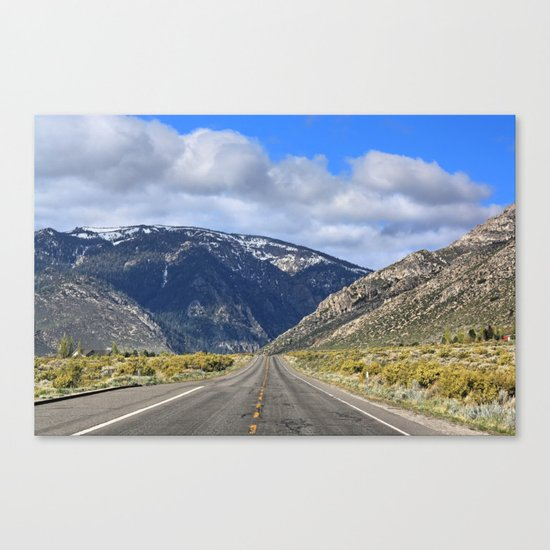 Hills Ahead Canvas Print