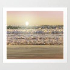 Goodmorning Sun Art Print