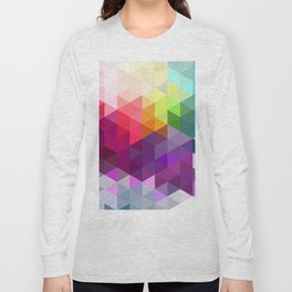Pixel Prism Long Sleeve T-shirt