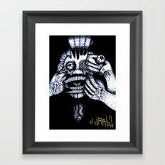 My Personal Demons Framed Art Print