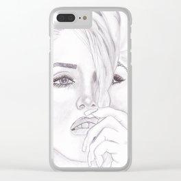 Gwen Clear iPhone Case
